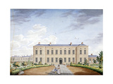 View of the Marylebone Infirmary on Marylebone Road, London, C1830 Giclee Print