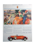 Packard Car Advert, 1930 Giclee Print
