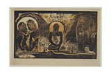 Te Atua (The God) from the Series Noa Noa, 1893-1894 Giclee Print by Paul Gauguin