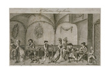 Interior View of Mr Horton's Soup Room, Cornhill, City of London, 1770 Giclee Print