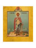 Saint Alexander Nevsky, 19th Century Giclee Print by Osip Semionovich Chirikov