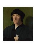 A Man Aged 38, Ca 1521 Giclee Print by Lucas van Leyden