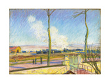 La Gare De Marchandises, C. 1880 Giclee Print by Alfred Sisley