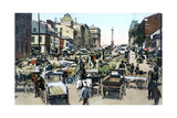 Jacques Cartier Market, Montreal, Canada, C1900s Giclee Print