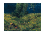 Summer, 1872 Giclee Print by Hans Thoma