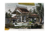 American Legation at Yeddo (Ed), Japan, 19th Century Giclee Print by  Richardson