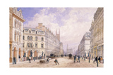 Holborn Viaduct, London, 1871 Giclee Print by Thomas Shotter Boys