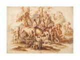 Jacob's Return, Ca 1647-1651 Giclee Print by Giovanni Benedetto Castiglione