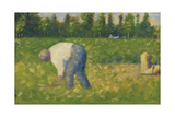 Paysan Travaillant, 1883 Giclee Print by Georges Seurat