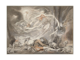 The Shepherd's Dream, 1786 Giclee Print by Johann Heinrich Füssli