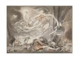 The Shepherd's Dream, 1786 Giclee Print
