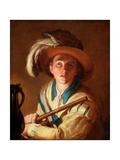 The Flute Player, 1621 Giclee Print by Abraham Bloemaert