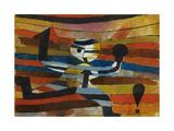 Runner - Hooker - Boxer, 1920 Giclee Print by Paul Klee