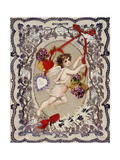 Valentine's Day Card, 1860S-1870S Giclee Print