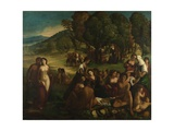 A Bacchanal, C. 1520 Giclee Print by Dosso Dossi
