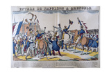 Entrée of Napoleon to Grenoble, March 1815, 19th Century Giclee Print