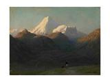 Mountain Landscape, 1868 Giclee Print by Lev Felixovich Lagorio