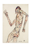 The Dancer, 1913 Giclee Print by Egon Schiele