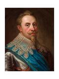 Gustavus Adolphus of Sweden Giclée-tryk af Lorenz II Pasch