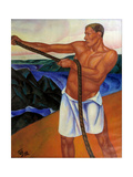 The Worker, 1912 Giclee Print by Kuzma Sergeyevich Petrov-Vodkin