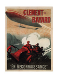 Clément-Bayard, 1915 Giclee Print by Ernest Montaut