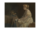 The Present, C. 1870 Giclee Print by Alfred Stevens