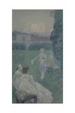 Harmony, 1900 Giclee Print by Viktor Elpidiforovich Borisov-musatov
