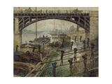 The Coalmen, C. 1875 Giclee Print by Claude Monet