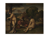 Pastoral Concert, C. 1510 Giclee Print by  Giorgione