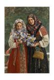 Meadow Flowers, 1913 Giclee Print by Ivan Semyonovich Kulikov