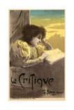 Journal La Critique, 1900 Giclee Print by Ferdinand Misti-mifliez