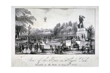 A Fair Held in Hyde Park During the Coronation of Queen Victoria in 1838 Giclee Print