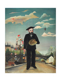 Self-Portrait Giclee Print by Henri Rousseau