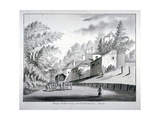 View of Holly Bush Hill, Hampstead, London, 1840 Giclee Print