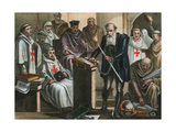 Galileo Galilei before the Holy Office Giclee Print by Albert Chereau