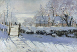 Claude Monet - Straka, 1869 Digitálně vytištěná reprodukce