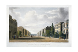View of Langham Place and Portland Place, Marylebone, London, 1822 Giclee Print