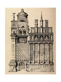 The Temple of Music by Robert Fludd, 1617 Giclee Print