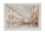 Leather Lane, London, 1851 Giclee Print by Thomas Colman Dibdin