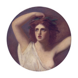 Emma, Lady Hamilton as Cassandra Giclee Print by George Romney