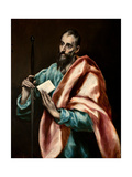 The Apostle Paul Giclee Print by  El Greco