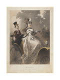 La Hausse (In Luc), End of 19th C Giclee Print by Philippe Jacques Linder