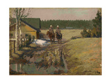 Cossacks on Horseback, 1916 Giclée-Druck von Ivan Alexeyevich Vladimirov