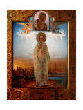 Saint Porphyrius of Gaza, End of 19th C Giclee Print by Osip Semionovich Chirikov