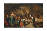 The Witches' Kitchen, Early 17th C Giclee Print by Frans Francken the Younger