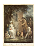 Dancing Dogs, C. 1800 Giclee Print by George Morland