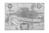 Map of the City of London and City of Westminster in C1600, 1708 Giclee Print