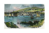 View of Halifax, Nova Scotia, C1870 Giclee Print