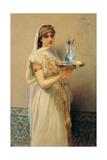 Servant, 1880 Giclee Print by Jules Joseph Lefebvre