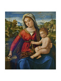 Virgin and Child Giclee Print by Andrea Previtali